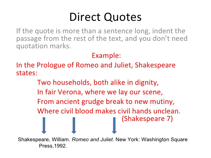 when to indent quotes in an essay What this handout is about used effectively, quotations can provide important pieces of evidence and lend fresh voices and perspectives to your narrative used ineffectively, however, quotations can clutter your text and interrupt the flow of your argument.