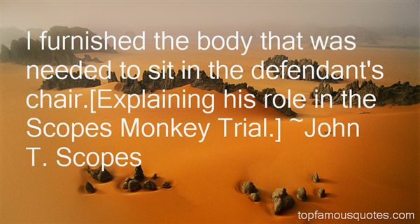 essay on the scopes monkey trial
