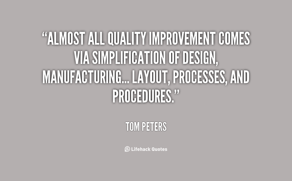 Quotes About Quality Improvement 65 Quotes