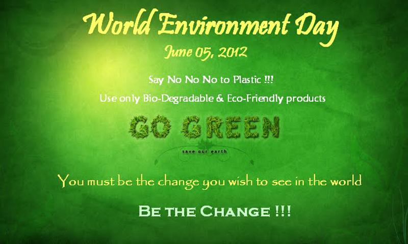 short essay about environment