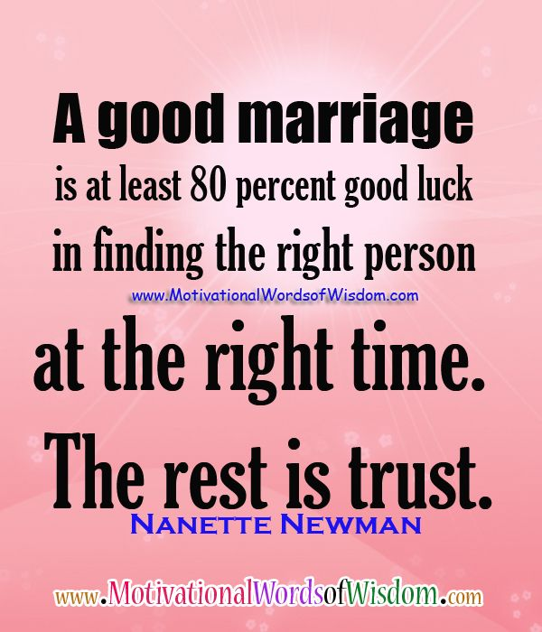 Quotes about Trust In Marriage (31 quotes)