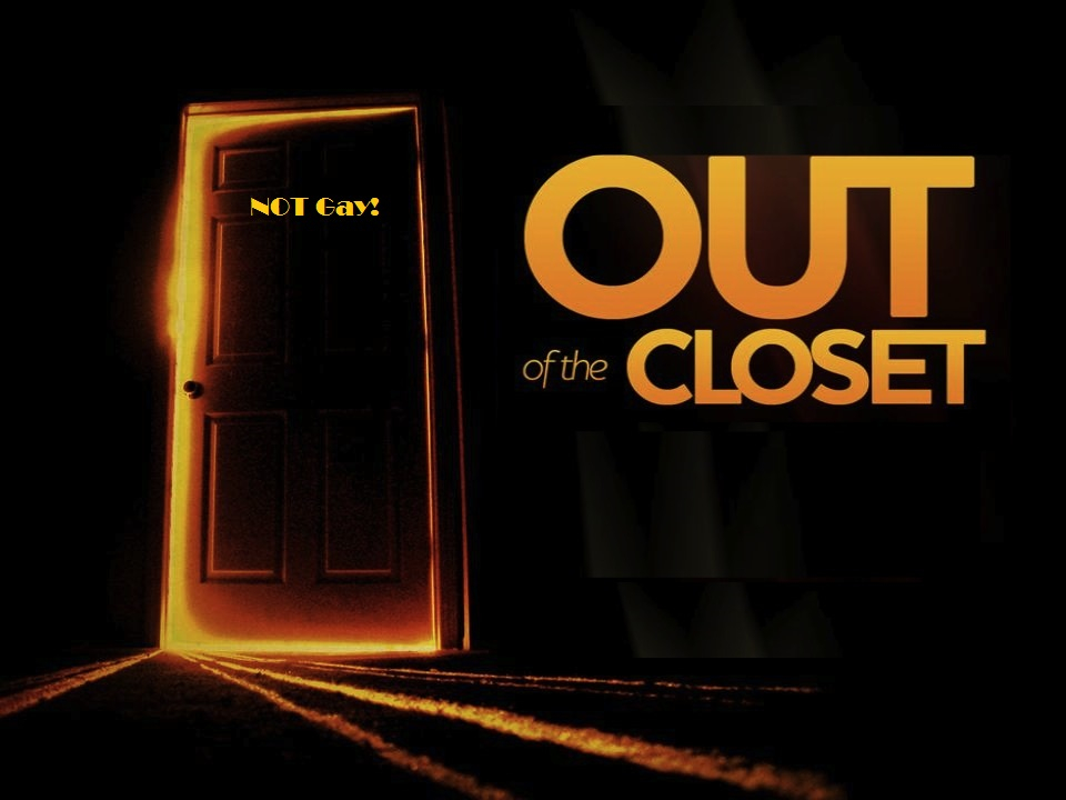 Coming out of the closet gay