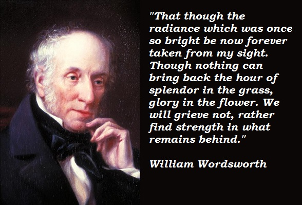 an analysis of the english romanticism in the poetry of william wordsworth Free essay: william wordsworth's poetry is characteristic of poetry written during the romantic period his pantheism and development of ambiance, the.