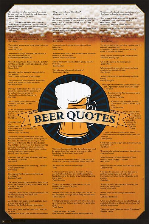 Quotes About Good Beer 64 Quotes