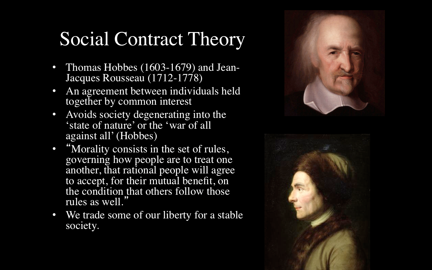 a comparison of hobbess and rousseaus theories of the social contract