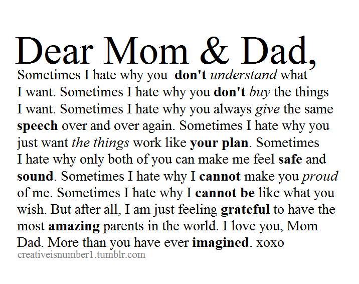 Sometimes I Wish You Would Want To Talk To Me Just As: Quotes About Strict Parenting (66 Quotes