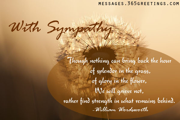 quotes about friendship and sympathy