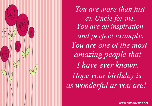 Quotes About Uncles Birthday 10 Quotes