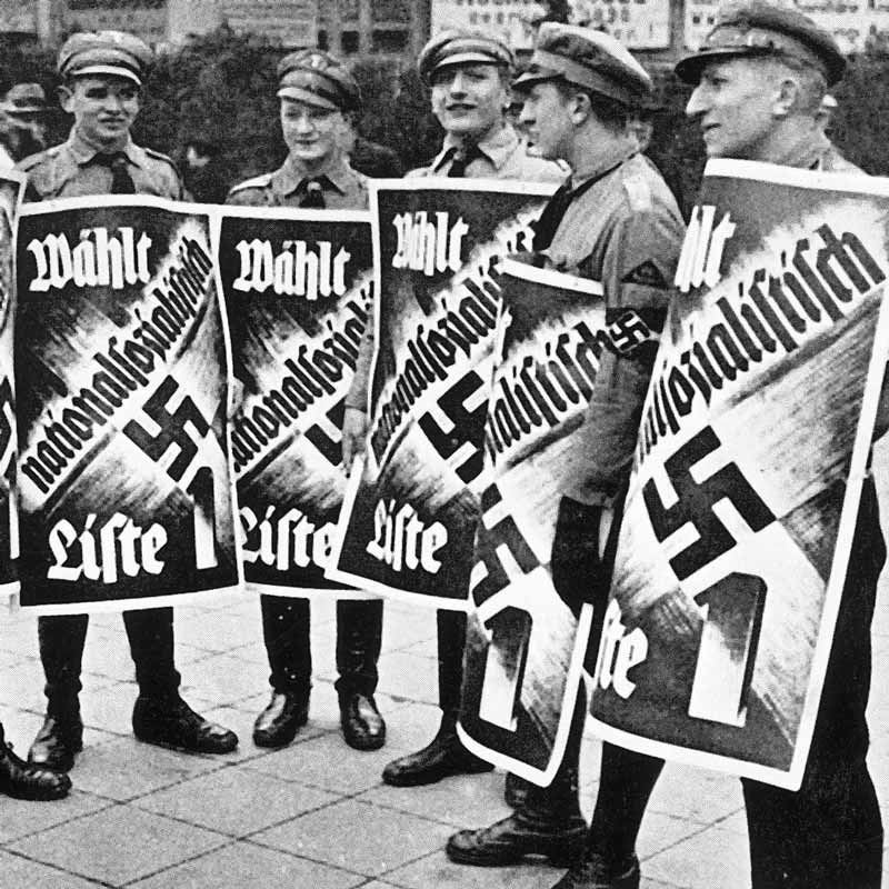 the increase in electoral support for the nazi party Many people who disagree with the nazi party have no choice but to leave germany fear and uncertainty are left for those who non-nazi supporters open support for hitler comes from every direction industrialists, bureaucrats, and even literary and intellectual figures join in on the pervasive.