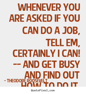 quote for a job
