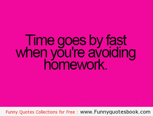 quotes on homework