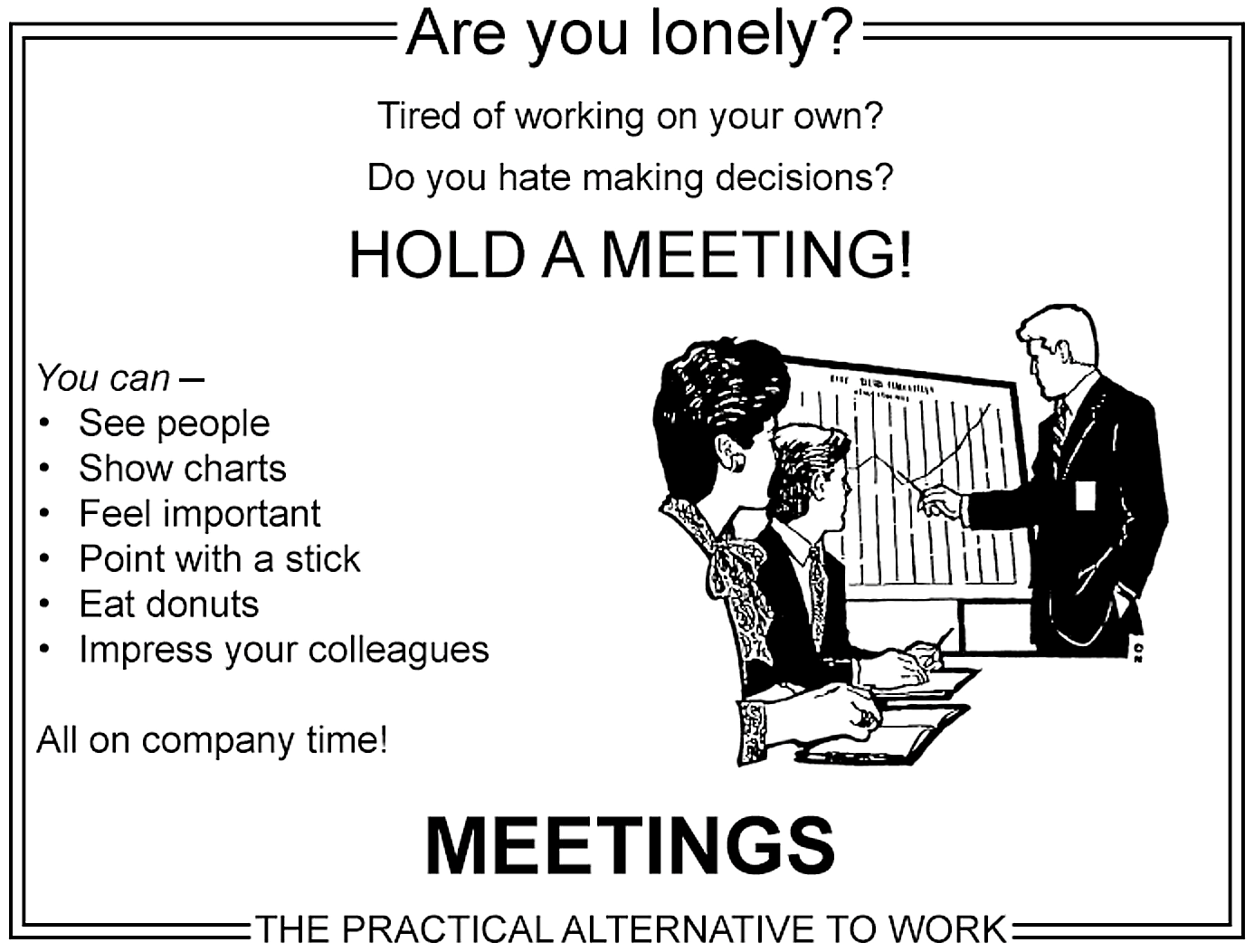 Image result for feeling bored hold a meeting