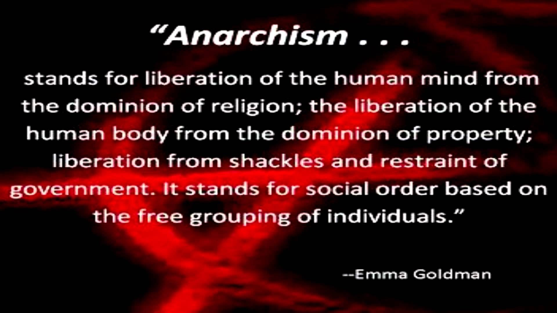 can anarchy work essay A stateless society - would anarchy really work throughout the world, the majority of modern societies live within harmonious social boundaries although anarchy has never been recognized at national level as a political ideology, could anarchism be the way forward, perhaps simply needing a.