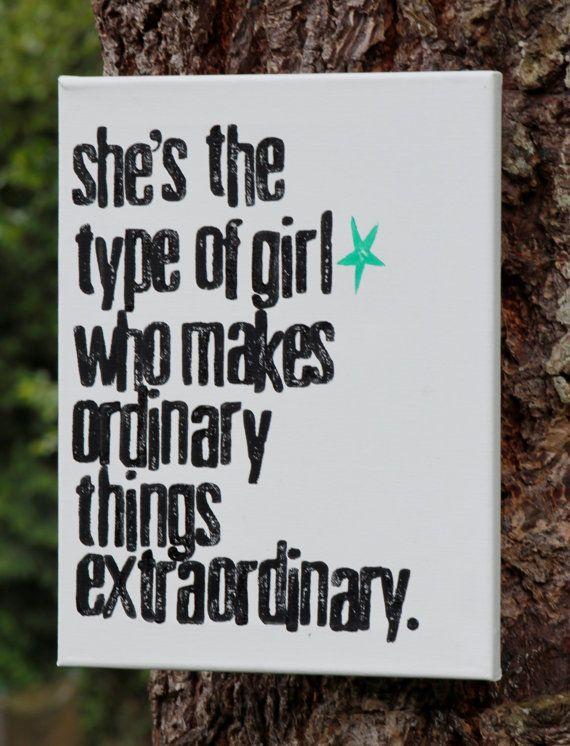 my type of girl