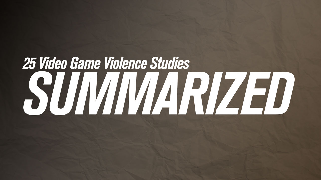 video games and violence 5 essay Video game violence violence is happening all around us and it is said that one of the biggest reason for teen violence, is because of playing video games.