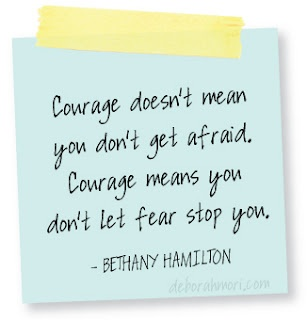 essay explaining what courage means to you