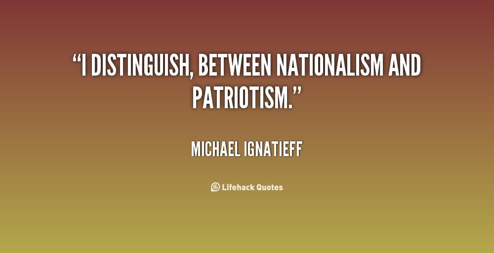 Essay about patriotism
