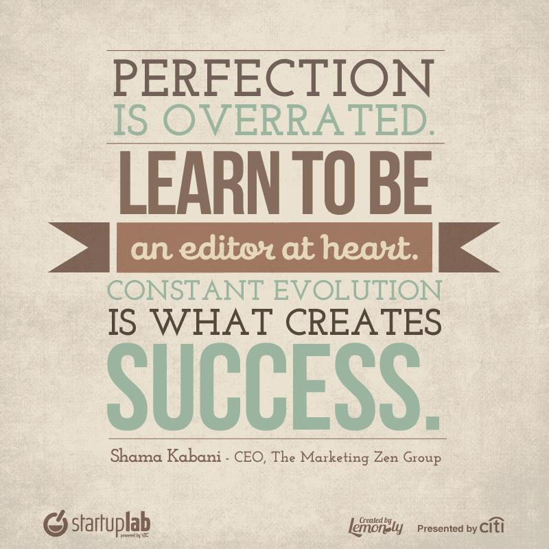 presenting for success quotes