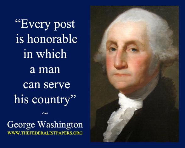 George washington business quotes