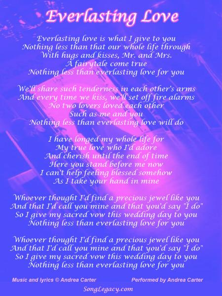 Quotes About Everlasting Love 60 Quotes Unique U A My Everlasting Love Quotes