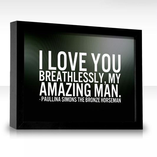 you are the man i love