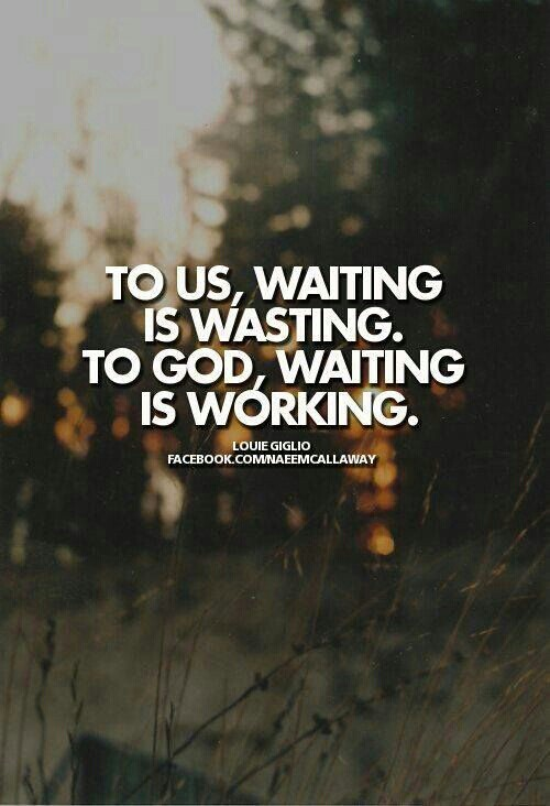 Quotes About Waiting On God Inspiration Quotes About Waiting On God 48 Quotes