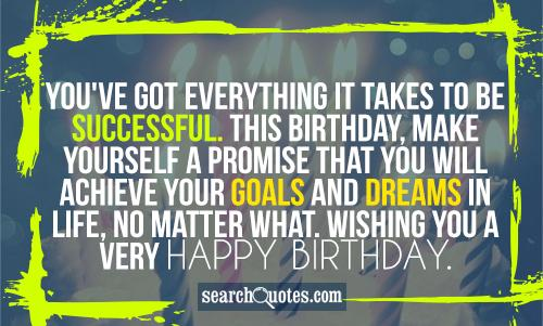 Quotes About Birthday For Yourself 20