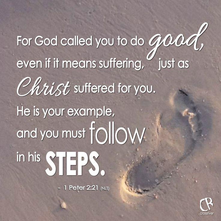 Be a good example bible verse