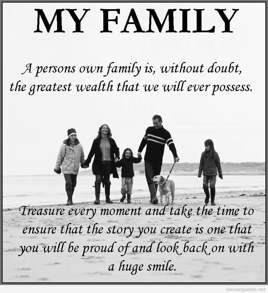 quotes about happy family