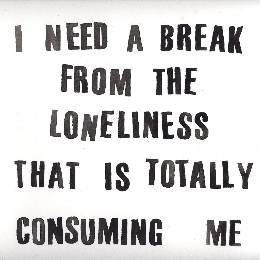 Lonely deep inside quotes