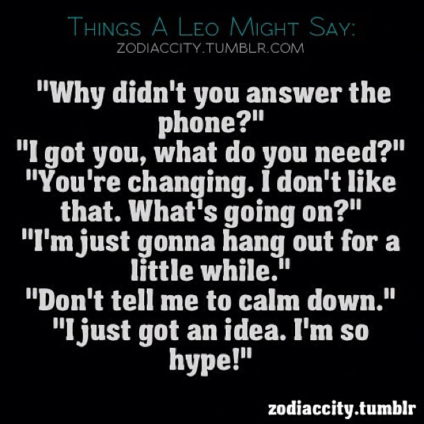 Quotes About Leo 216 Quotes