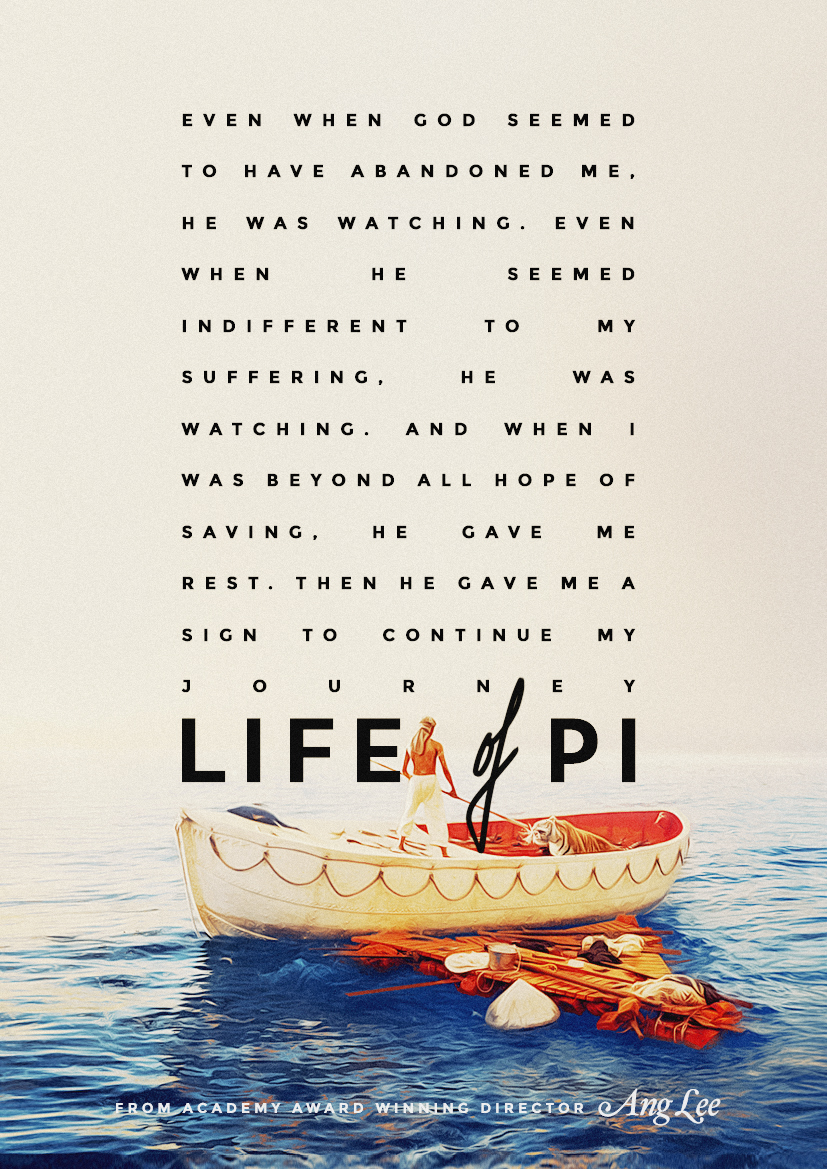 life of pi essays on storytelling Life of pi essay in yann martel's life of pi , the main character is pi patel, a 16-year-old indian boy stranded on a lifeboat in the pacific ocean who is trying to discover who he is.