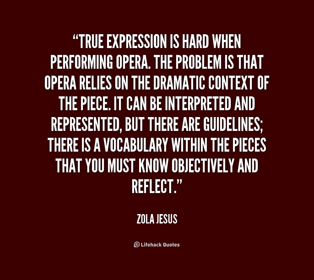 Opera Quotes Quotes About Operatic 36 Quotes