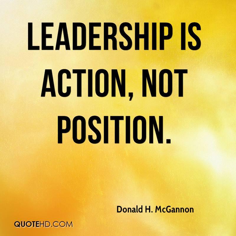Short Essay On Leadership