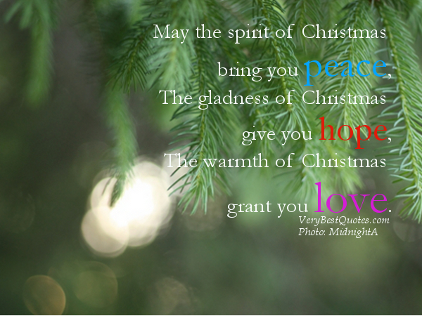 Quotes About Spirit Of Christmas 59 Quotes