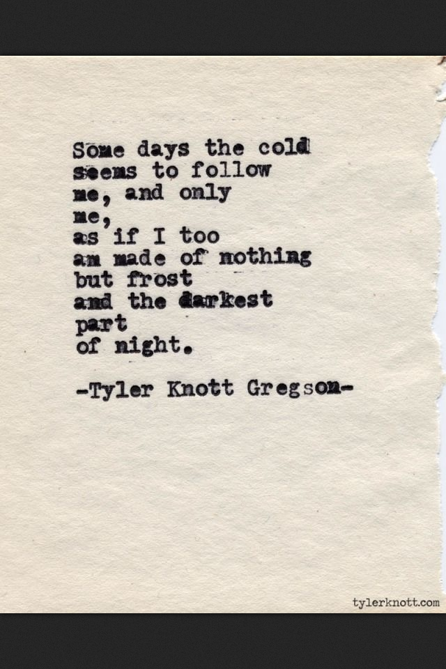 Cold Quotes Mesmerizing Quotes About Cold Night 48 Quotes