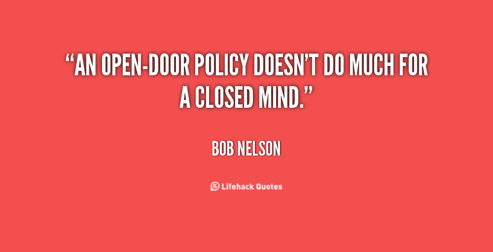 Quotes About Open Door 60 Quotes Beauteous Open Door Quotes