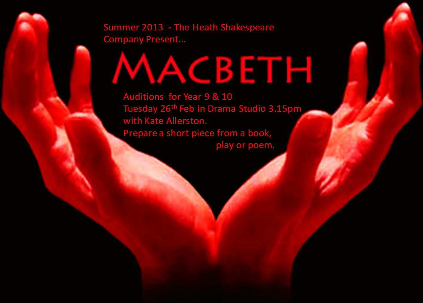 role of blood in macbeth