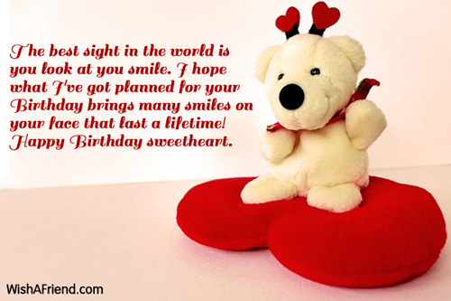 Quotes About Birthday Of Girlfriend 54 Quotes