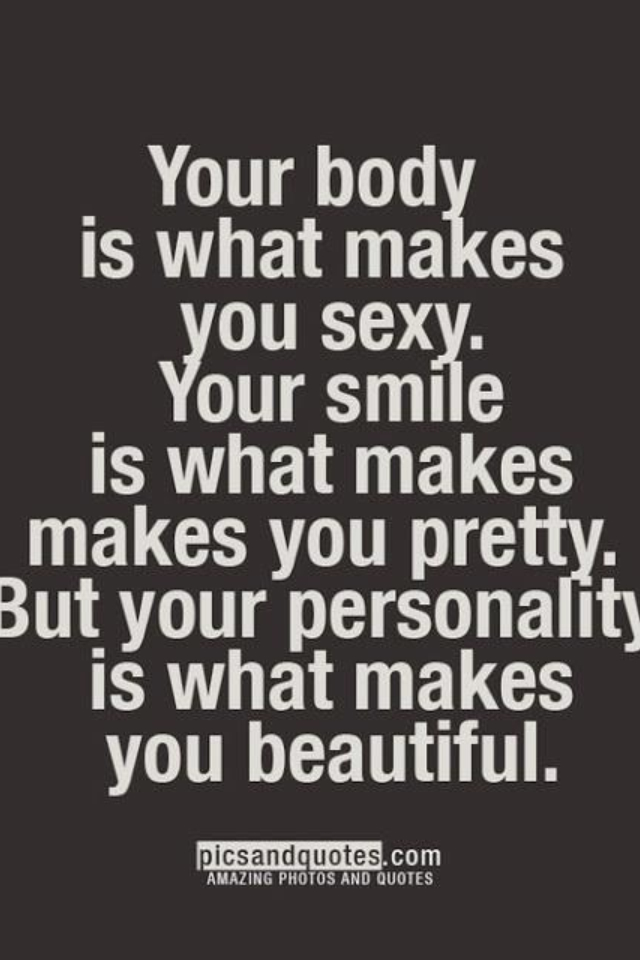 Quotes About Beauty And Personality 45 Quotes