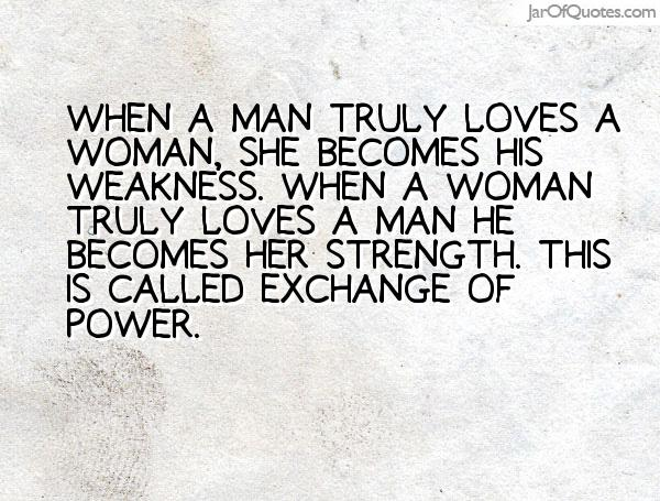 how to know if a man really loves a woman
