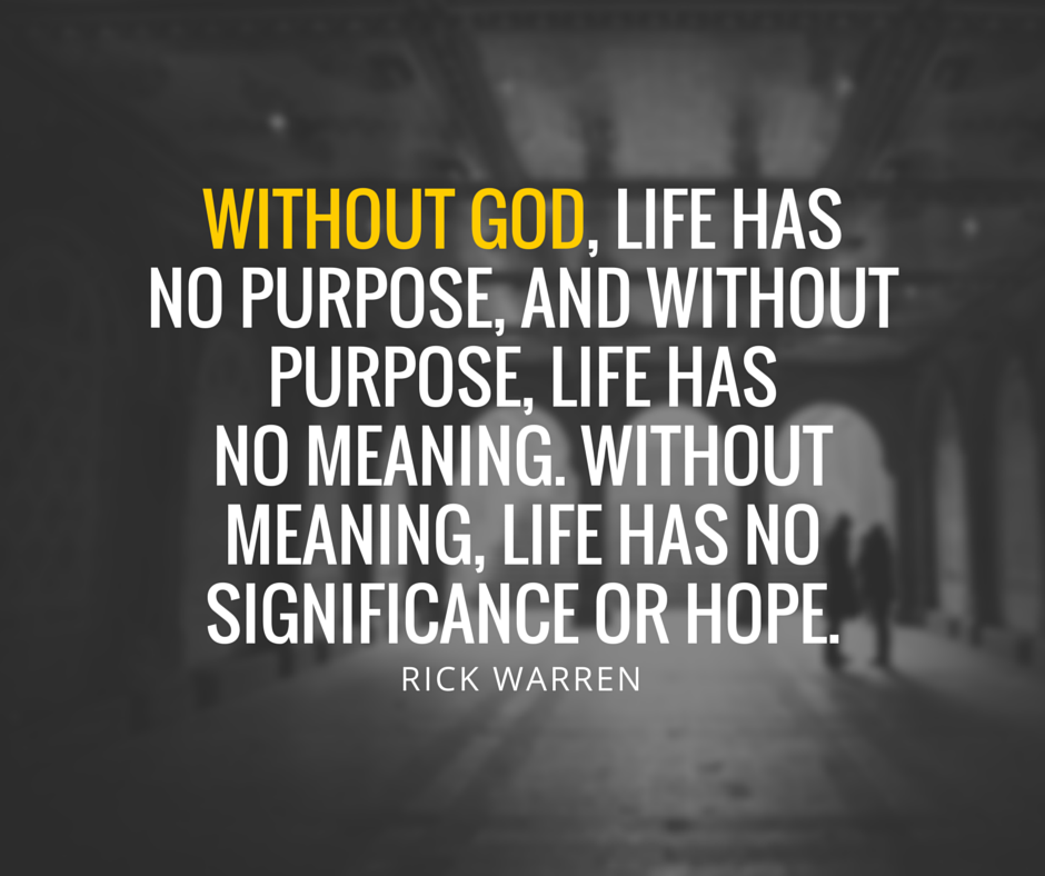 Quotes About No Purpose In Life 60 Quotes Impressive Purpose Of Life Quotes