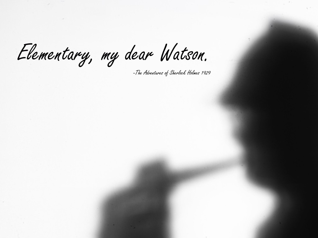 Sherlock Holmes Quotes: The Very Best Ones