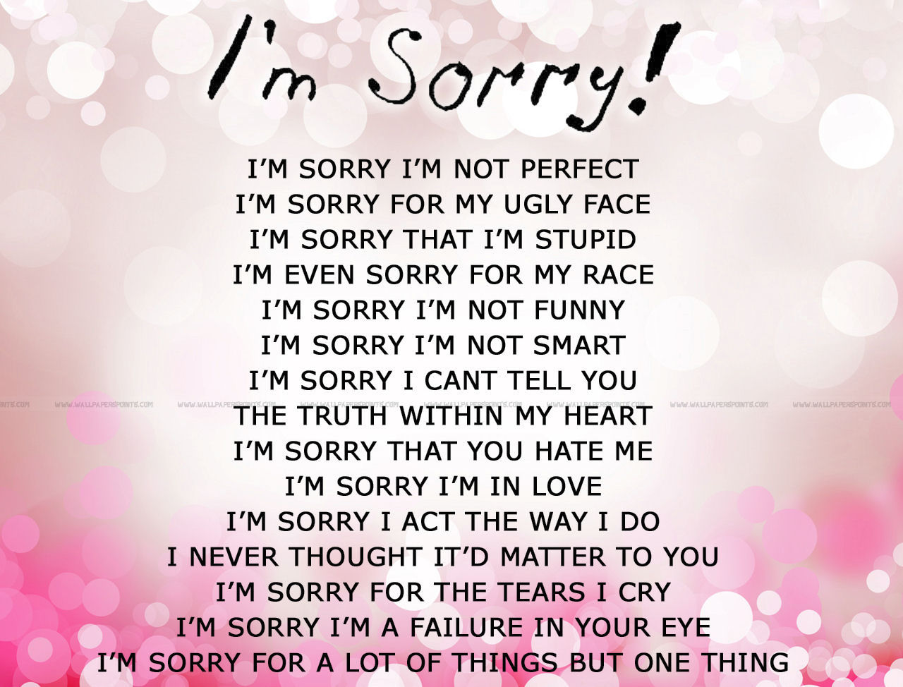 Quotes About Sorry 556 Quotes
