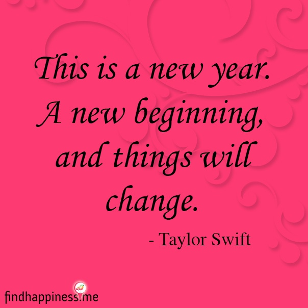 quotes about change new year