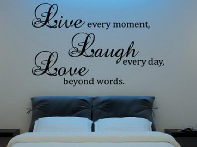 Quotes About Bedroom Wall 33 Quotes