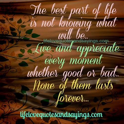 Quotes About Best Part Of Life 57 Quotes