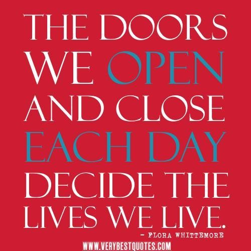 Quotes About Doors 60 Quotes Extraordinary Quotes About Doors