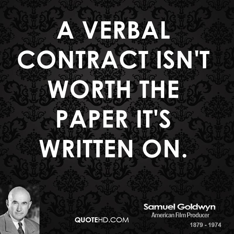 Quotes About Contract 421 Quotes