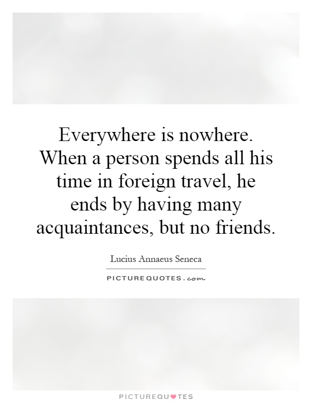 Quotes About Foreign Friendship 24 Quotes